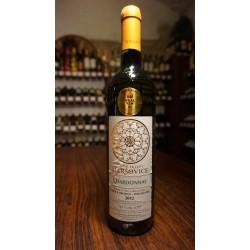 Maršovice, Chardonnay 2012 - výběr z hroznů, polosladké