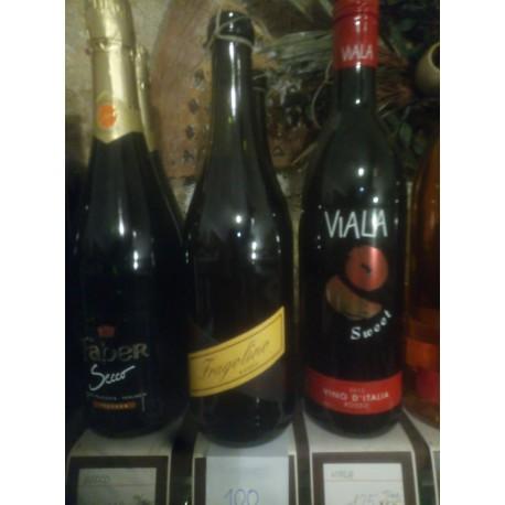 Jahodové víno Fragolino